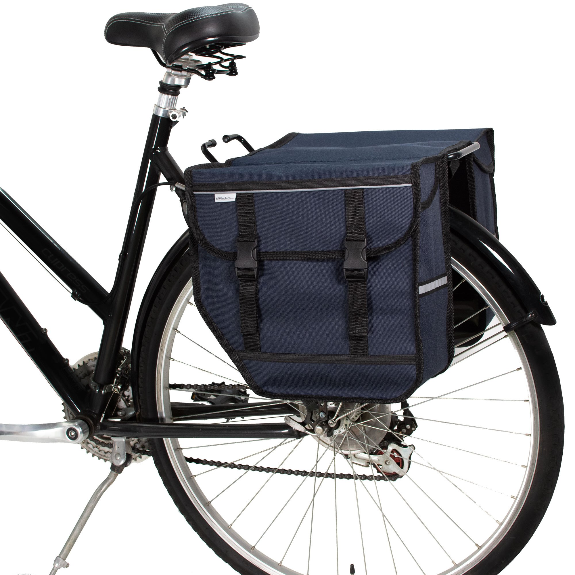 BikyBag Classic Waterproof Bicycle Pannier Bag Cycle Bike Shopping Polyester DHL